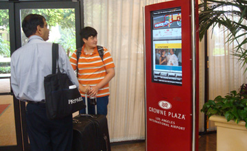 INTERIOR HOTEL AND SHUTTLE DIGITAL NETWORK