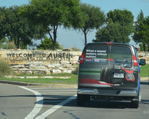 Exxon Shuttle Wrapping