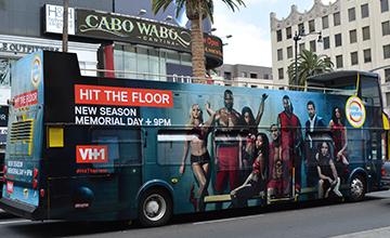 LOS ANGELES DOUBLE DECKER BUS WRAPS